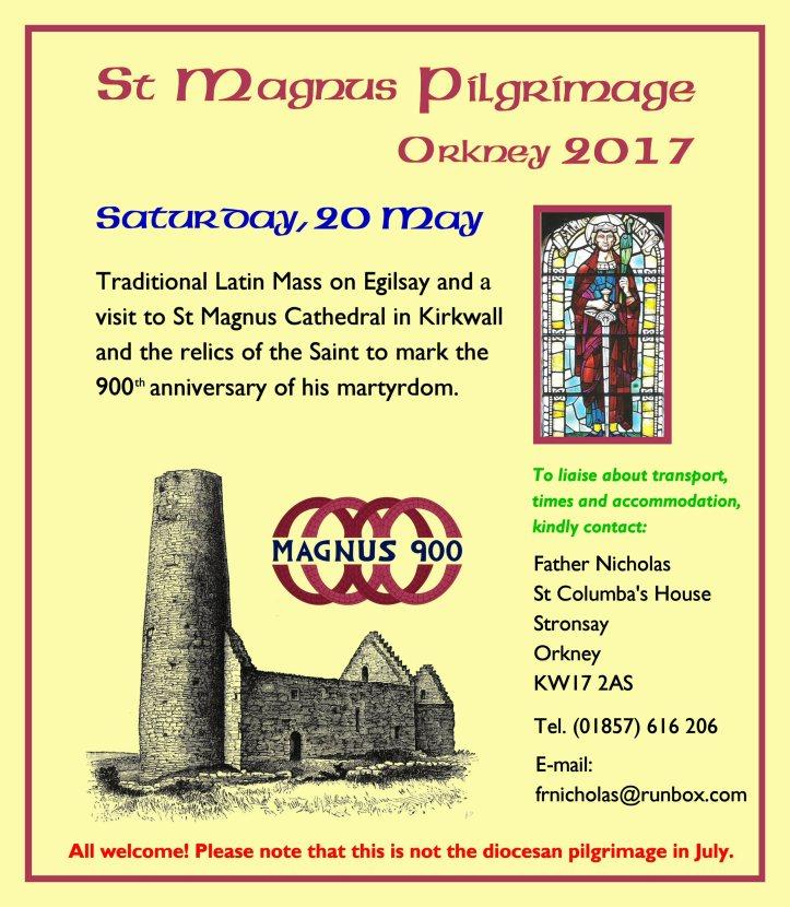 St Magnus Poster